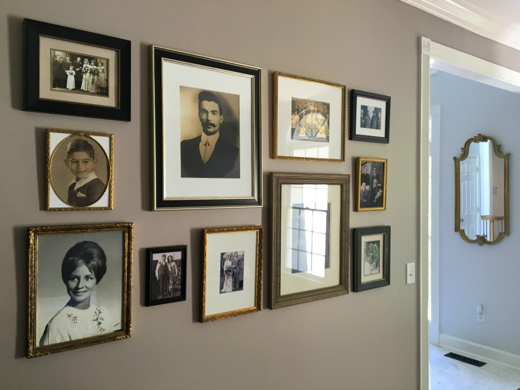 How to create an ancestor wall