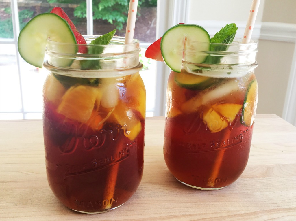 Pimm's Cocktail with a Southern Twist