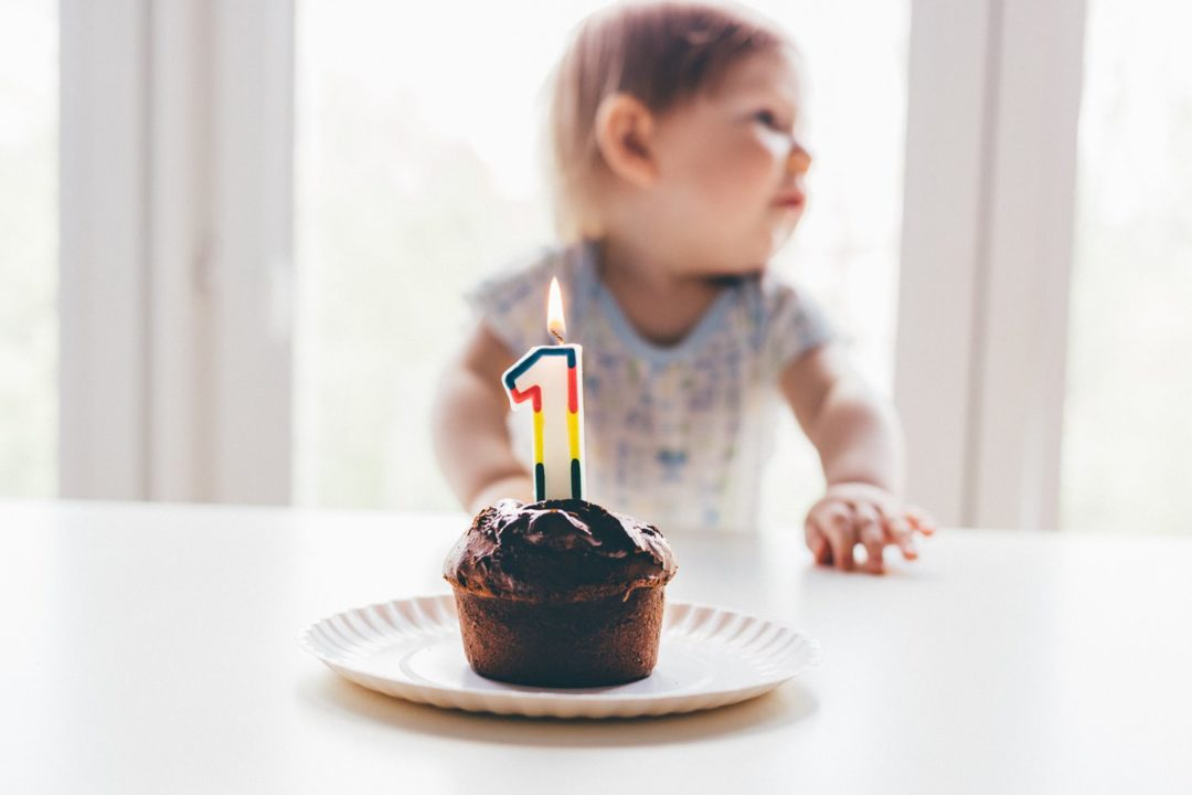 Let's Hear It for the 1 Year Olds!