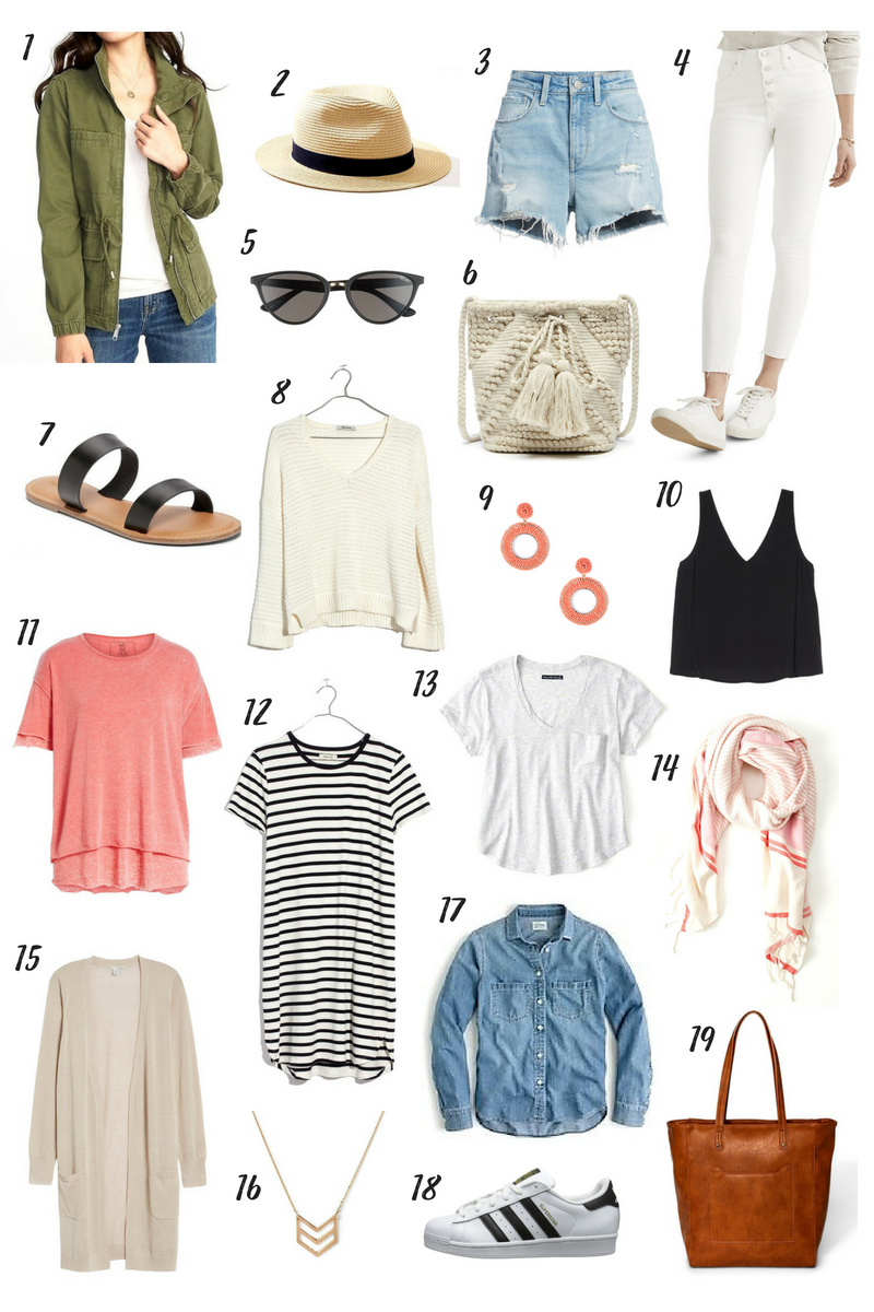 San Francisco Summer Packing List