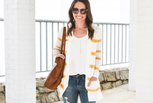 Everyday casual spring outfit