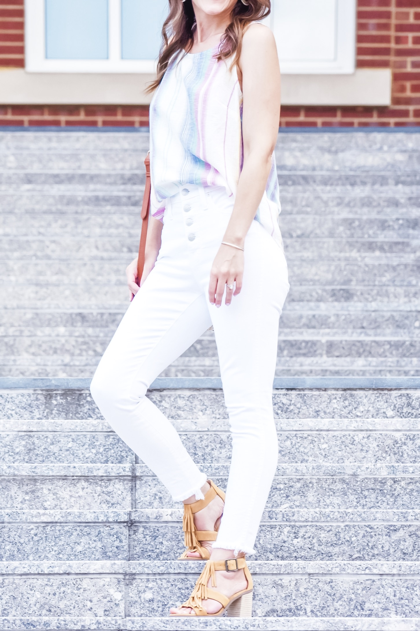 White Jeans and Summer Brights