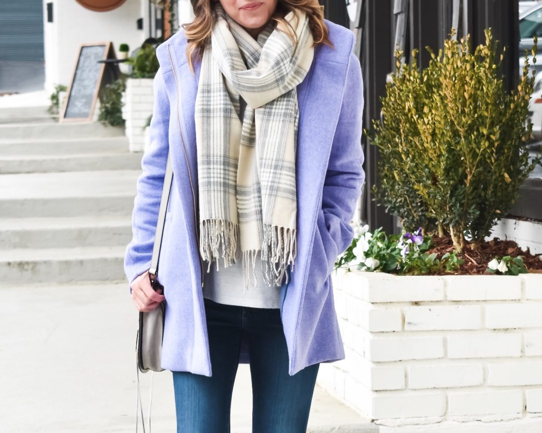 Winter Pastels: A Pop of Lilac