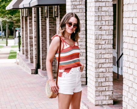 A Favorite Summer Trend: The Sweater Tank Top