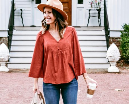 easy fall outfit